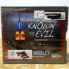 Known to Evil by Walter Mosley Ex Library 8 CD Unabridged Audiobook Free Ship