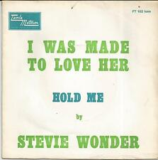 STEVIE WONDER I was made to love her FRENCH SINGLE TAMLA MOTOWN 1967