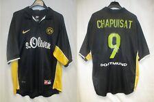 Maillot BVB BORUSSIA DORTMUND vintage NIKE trikot jersey shirt CHAPUISAT away XL