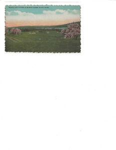 Wilton, ME Country Golf Club  Postcard  1936