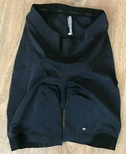Assos Lady womens black purple pad padded cycling shorts size L