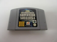 Extremely Rare Limited N64 Asian Version International Superstar Soccer 64, HTF