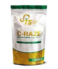 TS Life C-Raze Coffee Weight loss Program.      1 Week Supply 100% GENUINE