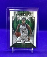 2019-20 Panini Donruss Giannis Antetokounnpo Franchise Features SP Insert 💹🔥
