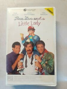Three Men and  Little Lady - Ex-Rental VHS Video