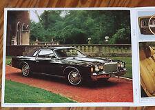 1976 Chrysler Cordoba Prospekt brochure n Newport 300 New Yorker