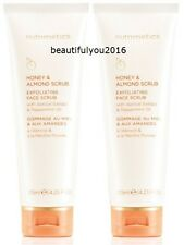 NUTRIMETICS HONEY & ALMOND SCRUB 125ML X 2 RRP $78 BRAND NEW