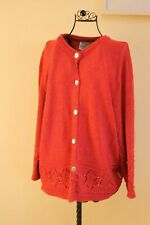 Roisin McCarthy Knitted Cardigan Made in Ireland Size Medium