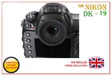DK-19 GOMMA OCULARE OCULARE per Nikon DSLR Telecamera D3S D2H D2Xs D800E F6 F5 UK