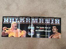 "Hulk Hogan Hulkamania 3 ""Pull-out Banner"" WWF"