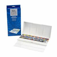 Winsor & Newton Cotman Water Colour Studio Paint Set of 24 Assorted Whole Pans