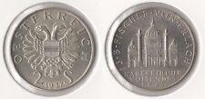 """Österreich 2 Schilling 1937 (Silber) """"Bundesstaat (1934-1938)"""" f.vorzüglich"""