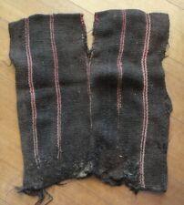Precolumbian CHILD PONCHO NAZCA Culture Peru c 1200 AD.