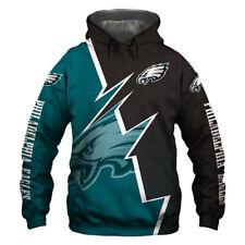 Philadelphia Eagles Fan Hoodie Hooded Sweatshirt Sports Coat Fashion Jacket Gift