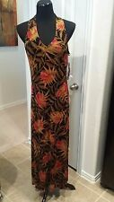 NEW Jessica Howard Size 12 Flower Print Halter Dress