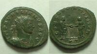 Rare genuine Ancient Roman coin/Emperor Aurelian 274 AD Concordia