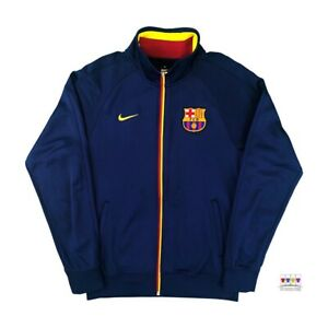 Barcelona Nike Soccer Core Training Track Jacket Small