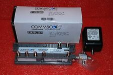 5-PORT COMMSCOPE CSAPDU5VPI DIGITAL AMPLIFIER SIGNAL BOOSTER W/ SURGE CATV #N37