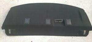 15-19 Dodge Charger Rear Parcel Shelf Panel Tray Speaker Black Trim #1LM50DX9A0