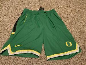 Nike Oregon Ducks Dri-Fit Basketball Shorts Green Men's Size: 2XL NWT