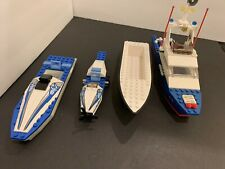 Vintage 1991 Lego Classic Town 6353 Coastal Cutter Incomplete,w/Other Boat Parts
