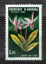 Andorra French 1980 Mi 308 Nature preservation - MNH