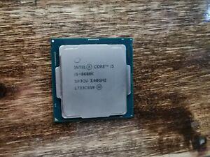 Intel i5 8600k Six Core LGA 1151 3.6 GHz CPU Processor
