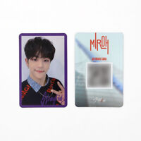 [STRAY KIDS] SKZ / Cle1 : MIROH Official Photocard / Purple Border / WOOJIN