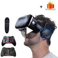 Virtual Reality Goggles VR Headset Glasses For Smartphone Android Iphone 3D Box