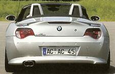 BMW Z4 E85 E86 2006-2008 AC Schnitzer OEM Rear Apron For Non-M Technik Bumper