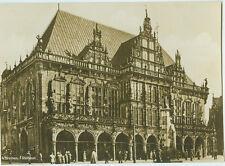 Alte Ansichtskarte Postkarte Bremen Rathaus s/w