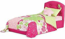 Excellent American Girl Bloom Bed and Bedding Set For Dolls in Original Box