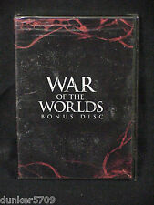 WAR OF THE WORLDS HBO SPECIAL BONUS DISC DVD 2005 UNRATED FACTORY SEALED IN BOX