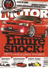 Motor Jan 09 Nismo GTR Audi S3 Ralliart WRX C63 AMG HSV Ute GTS TDi Elfin 2.0