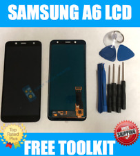 Black Samsung Galaxy A6 A600 2018 Screen LCD Assembly Digitizer Replacement