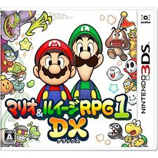 NINTENDO 3DS Mario & Luigi RPG1 DX JAPANESE VERSION REGION LOCKED