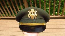Vietnam US Army Military Officer Service Dress Greens Hat Cap Bullion 6 1/2