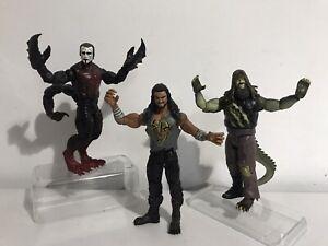 Wwe Wrestling Figures Mutants And Monsters Sting Roman Reigns Bray Wyatt Bundle