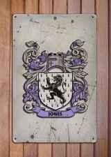 Berger Coat of Arms A4 Aged Retro 10x8 Metal Sign Aluminium Heraldry