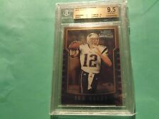 2000 Bowman Chrome tom brady  BGS 9.5, Patriots, with two 10 subs, reduced price