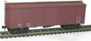 Acurail 1198 HO 36' Fowler Wood Boxcar New Free Shipping