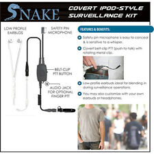 SNAKE Q-Release Ipod-Style Earpiece for Motorola PRO EX GL GP PTX (See List)