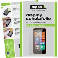 1x dipos Nokia Lumia 630 Protector de Pantalla protectores mate