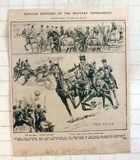 1910 Popular Features Of The Military Tournament, New Game Push Ball
