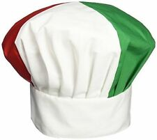 Italian Chef Hat Cotton Blend Adjustable Velcro® Closure FREE SHIPPING USA ONLY