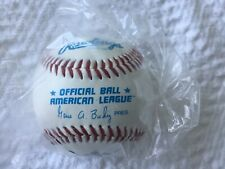 OFFICIAL BALL AMERICAN LEAGUE 1990's BALL, MILWAUKEE BREWERS LOGO, NEW/SEALED!