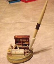 Sebastian Miniature Sml-319B The Grocery Store Pen Stand w/ original Pen