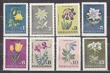 BULGARIA 1963 **MNH SC# 1292 - 1299  The Flowers