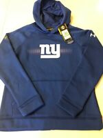 Nwt Under Armour Storm NFL New York Giants Hoodie/Pullover Youth Large $55