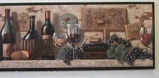 Wine & Cheese Sign wall decor plaque, grapes corkscrews Italian kitchen picture